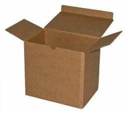 Plain Paperboard Overlap Slotted Carton Box