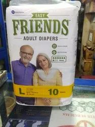 Adult Diapers, Size: Large, 38-60 Inch