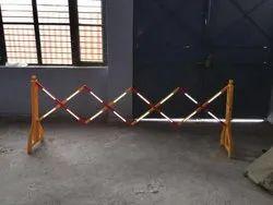 Folding Barricade Stand