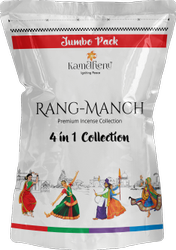 Rangmanch 360 Gms Jumbo Zipper Pack Agarbatti
