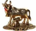 Metal Cow Statue