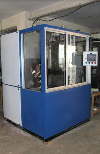 Vertical Job Moving Scanner With PLC Base Auto Control