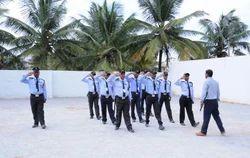 Man Guarding Deployment Services