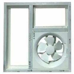UPVC Louver With Fan