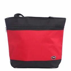 Polo Red, Black Fantasy Ladies Bag