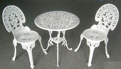 Aluminium Cast Iron Chair