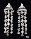 Nikita Plus Golden Designer Earring