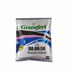 Greenfert 00:00:50 Potassium Sulphate, For Agriculture, Packaging Type: Packet