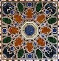 Stone Marble Inlay Round Dining Table Top