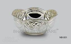 Designer Pure Silver Bowl