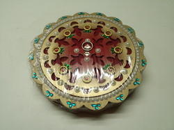 Round Shape Dry Fruit Box
