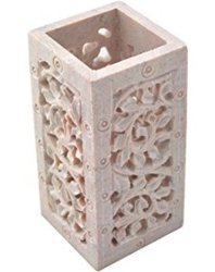 Soapstone Pen Stand Decorative Holder