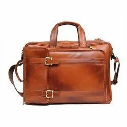 Plain Tan Goat Leather Bags