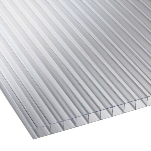 Poly-carbonate Twin Wall Polycarbonate Roofing Sheet, Rs ...