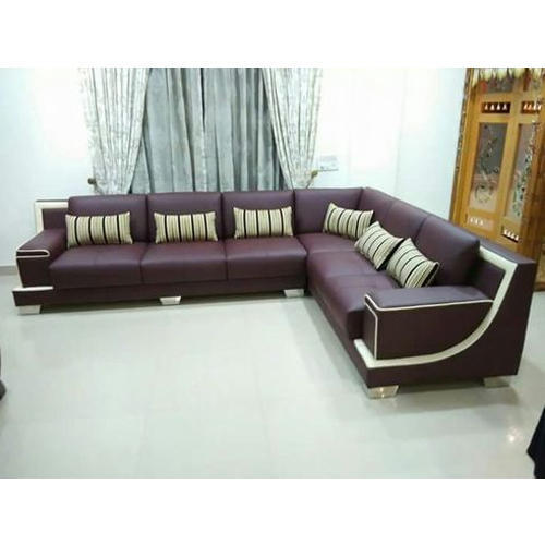 Living Room L Shape Sofa At Rs 20000 Piece L Shape Couch एल श प स फ स ट Aalam Industries Vasai Id 10810025491