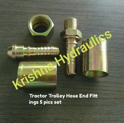Tractor Trolley Hydraulic Hose End Fitting