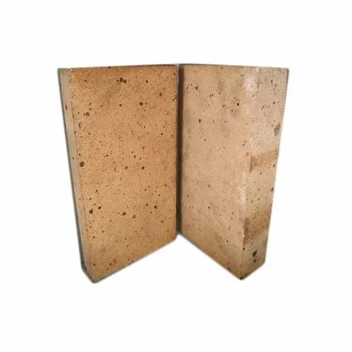 Alumina Side Walls Fire Bricks, Size: 9x4.5x3 Inch