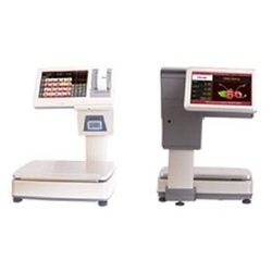 Label with Receipt printing POS scale