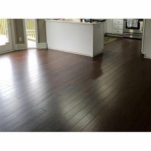 Dark Brown Wood En Laminate Flooring, Laminate Flooring Dark Brown