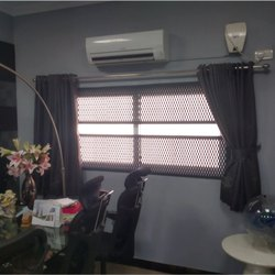 Expanded Metal Grill Windows