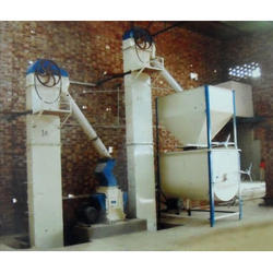 Semi-Automatic Cattle Mesh Feed Plant