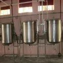 DOUBLE JACKETED VESSEL FOR  SAMBAR 80Ltrs
