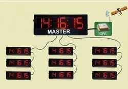 GPS Based Master & Slave Clocks