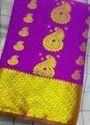 Art Silk Expose Sarees