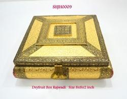 Rajwadi Dryfruit Box Golden