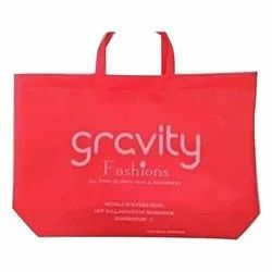 Loop Handle Printed Non Woven Shopping Bag, Capacity: 5kg