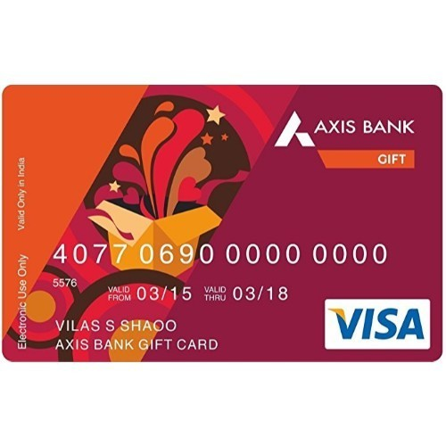 Axis Bank Gift Card