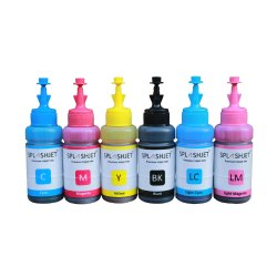 Splashjet Refill Ink for Epson T60, TX720, 1390 Printer