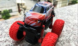 Inertance Four Wheel Drive Toy Car