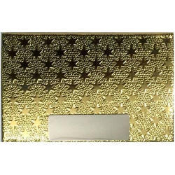Metal And Golden Visiting Metal Unique Designer Card Holder golden finishing