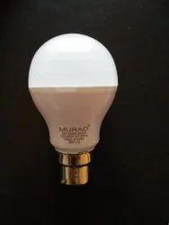 MURAD Aluminum 9w LED Bulb, For Indoor, Base Type: B22
