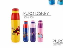 Steel Cello Puro Disney Water Bottle, Capacity: 600 Ml,Also Available 900 Ml