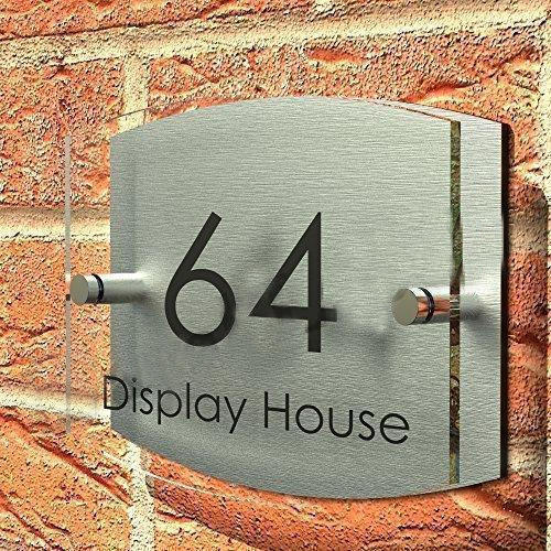 Catchy collections of house name plate fabulous homes for Classic house name plates