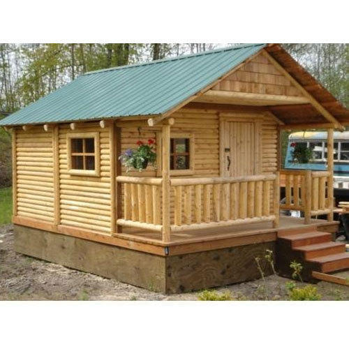 Hut Design: Bamboo And Wood Modern Bamboo House, Rs 250 /square Feet