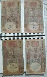 Old 2 Rupies Notes Total 5