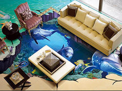 3D Living Room Painting Service