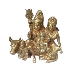 Shiv Parvati Brass Statue