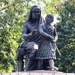 Jijau & Shivaji Statue Art