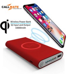 Callmate Home And Office D-301 10000 MAh Wireless Charging Power Bank, Mobile, Battery Type: Lithium-ion