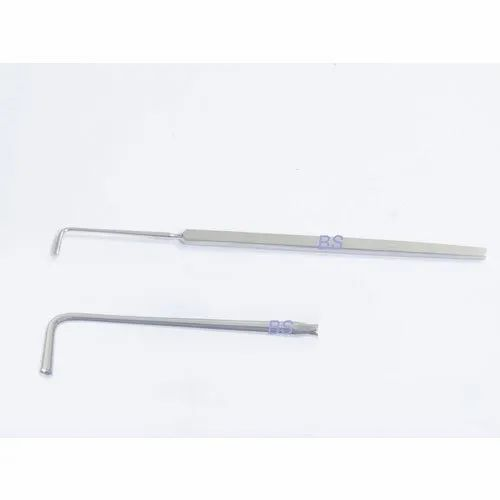 3 O.R Grade Graefe Muscle Hook Size 2 Surgical Instruments