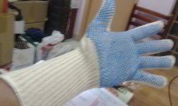 Polka Dotted-Long Wrist Glove