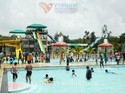 Resort Complex Frp Water Slide