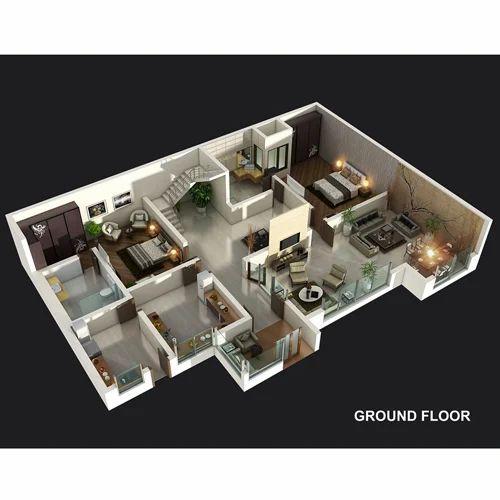 3D Floor Plan, 3d Floor Plan Services
