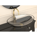 Oval Glass Wash Basin