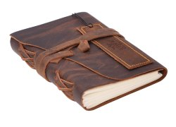 Leather Cover Journal Diary Notebook
