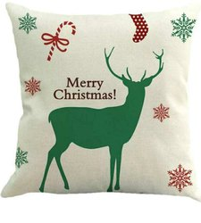 Rawsome Shack Christmas Printed Cushion
